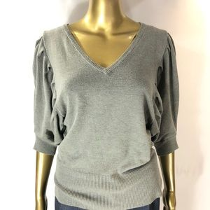 Chelsea & Theodore V- Neck Sweater